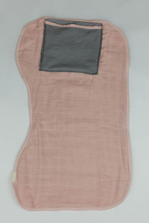 Salmon Burp Cloth
