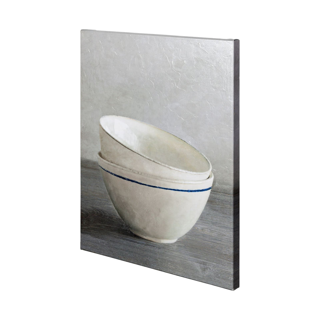 Two Artisan Bowls Wall Art