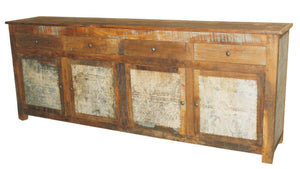 Galvanized Sideboard Natural