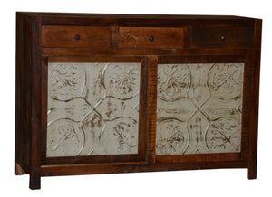 Ceiling Tile Sideboard