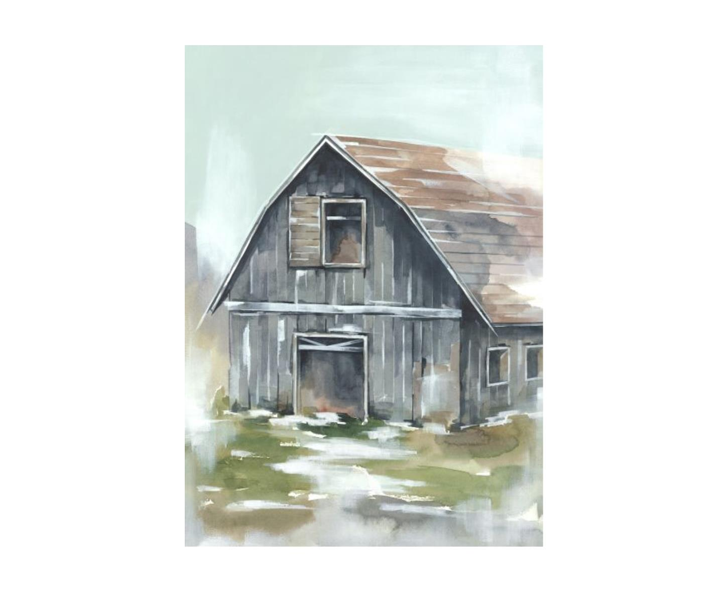 Barn In Spring IV
