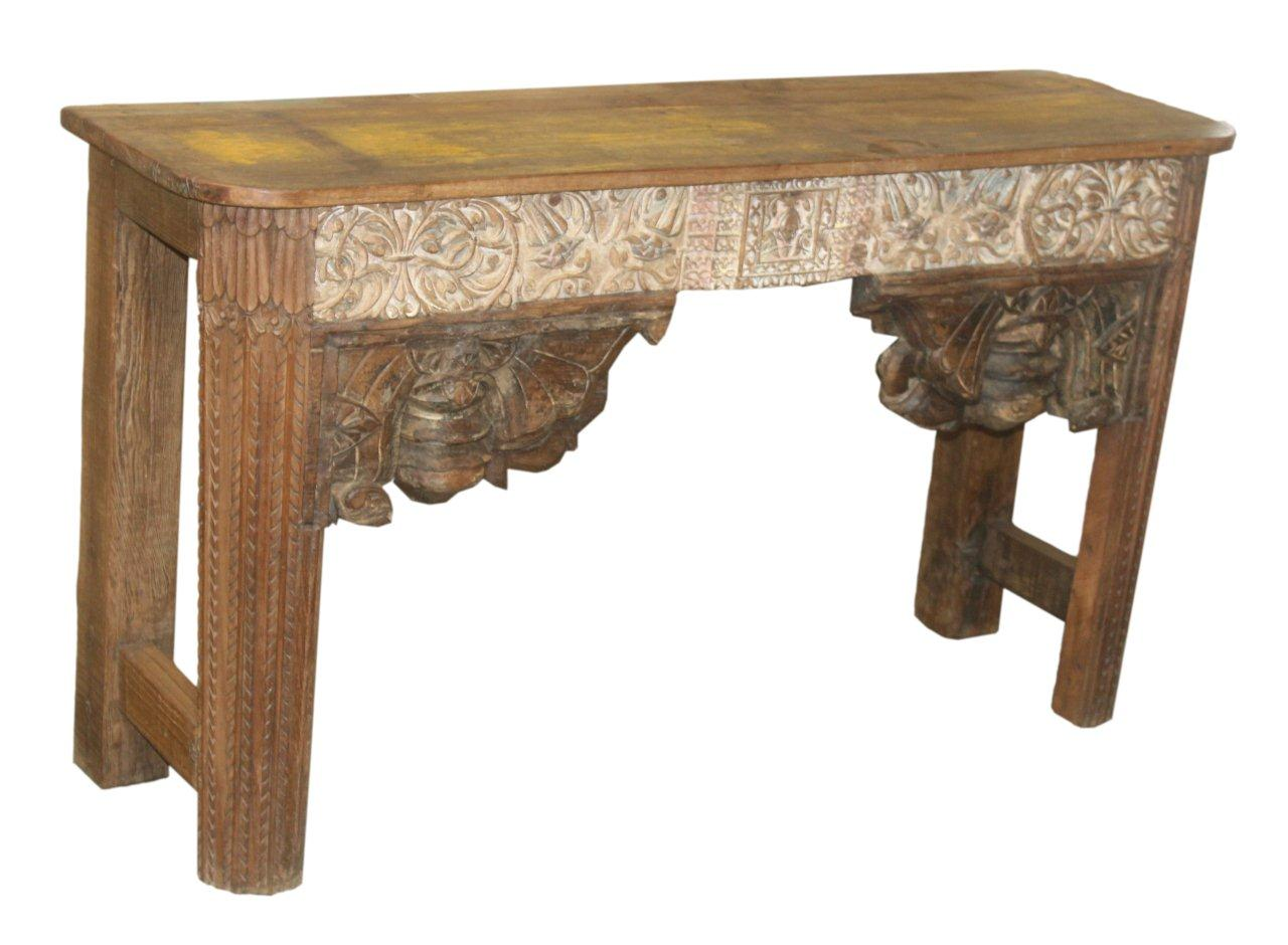 Vintage Carved Console