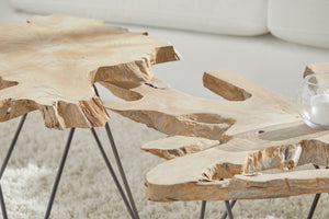 Acacia Nesting Coffee Table