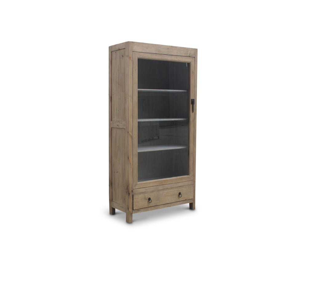Single Door Elm Cabinet
