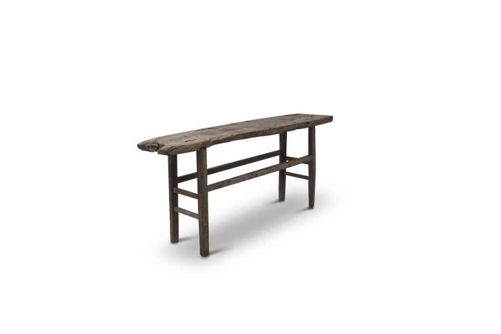 Raw Timber Console