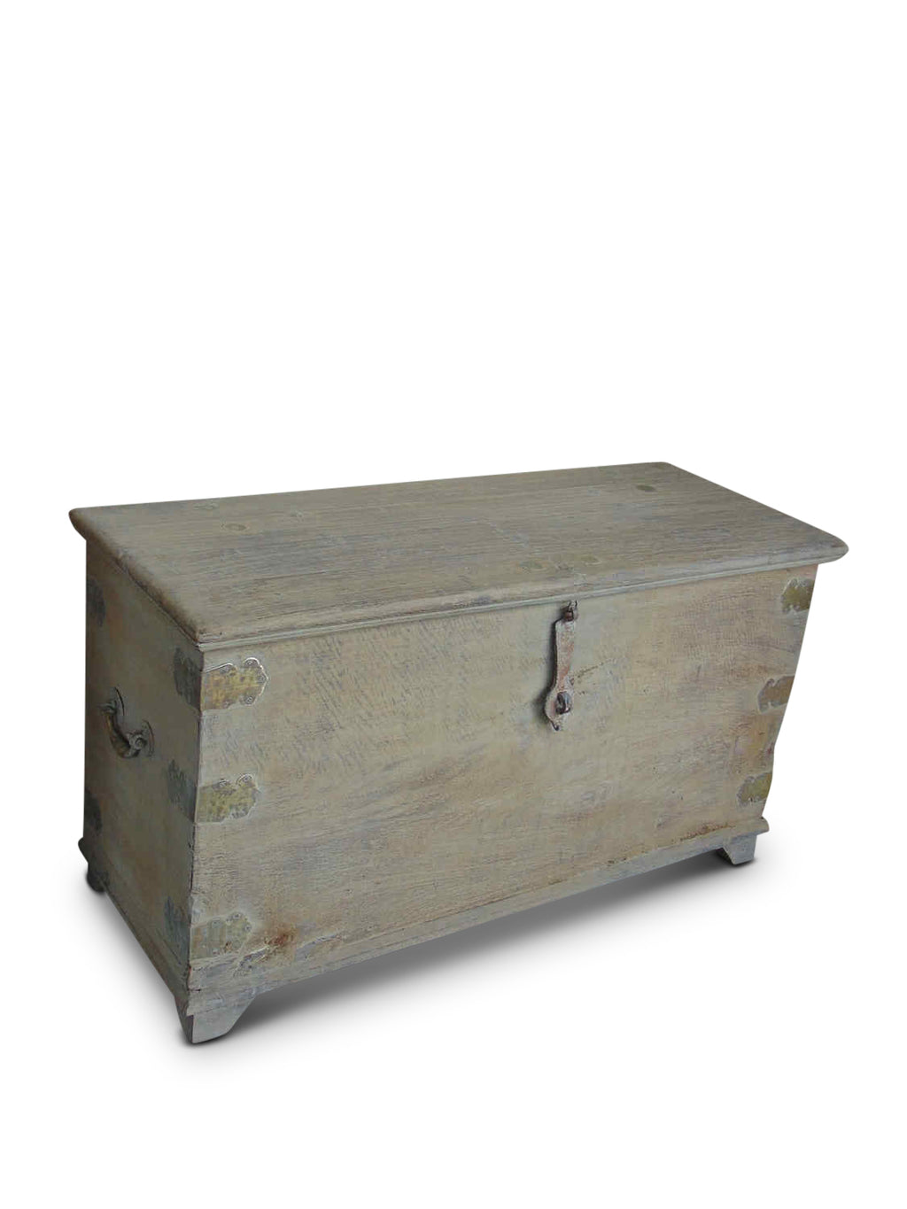 Antique Trunk - Brass Handle