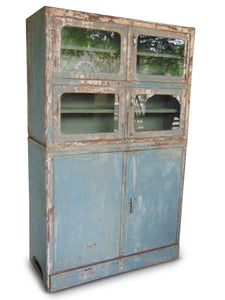 Rustic Iron Cabinet