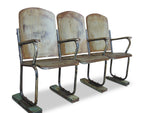 3 Seat Iron Cinema Bench