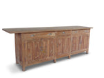 Wooden Counter Sideboard