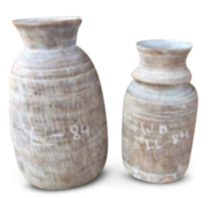 Wooden Milk Pot