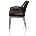 Tulum Outdoor Arm Chair Metal Base