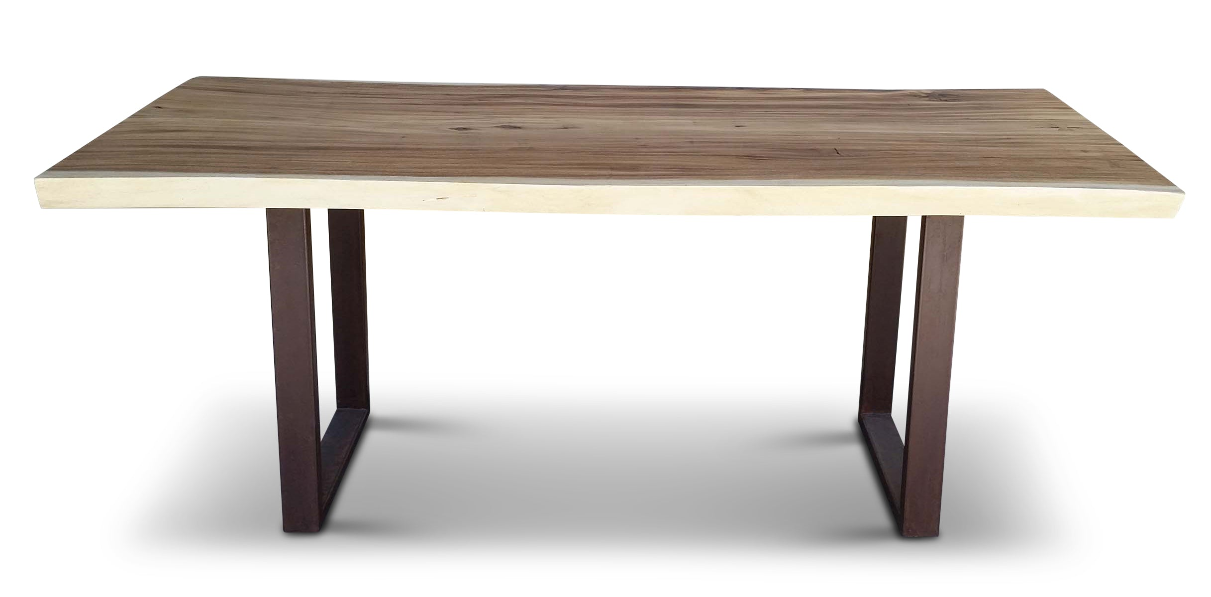 Chamcha Desk - Rust Finish Leg