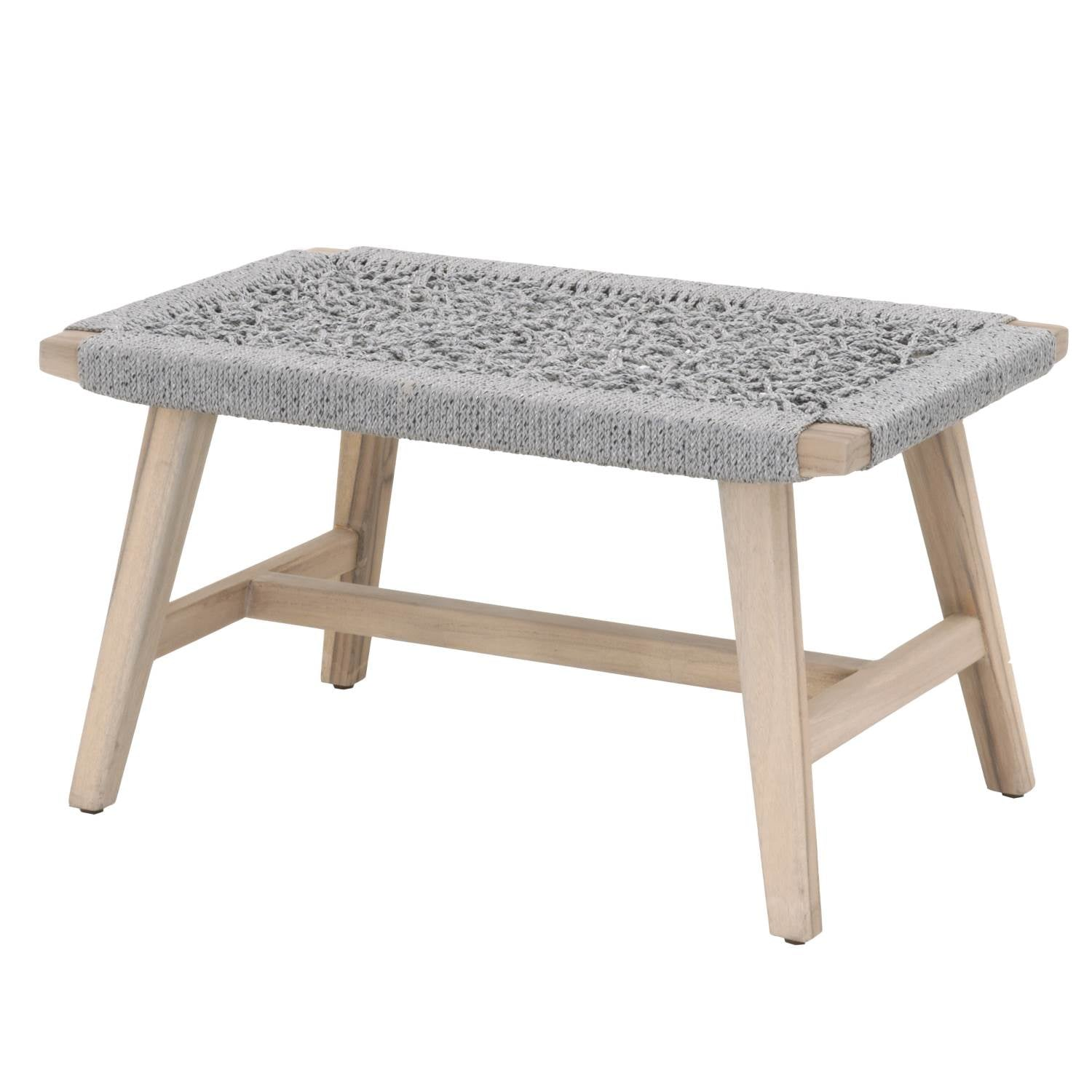Coral Outdoor Accent Stool