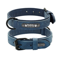 Personalized Leather Pet Collar - Cart Hunter