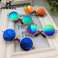 Latest Fashion Round Mirrored Dog Cat Sun Glasses - Cart Hunter