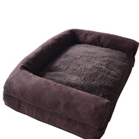 Plush Suede Pet Dog Beds - Cart Hunter