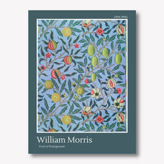 william morris fruit and pomegranate wall art