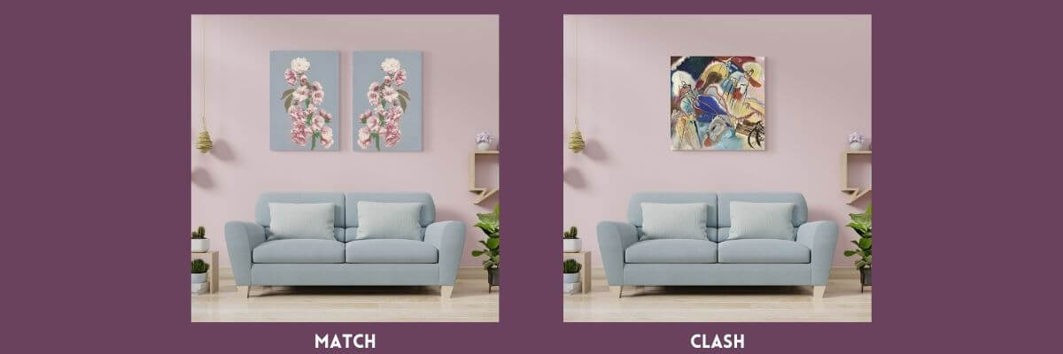 Clash or match pink