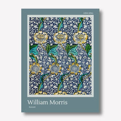 william morris kennet print wall art