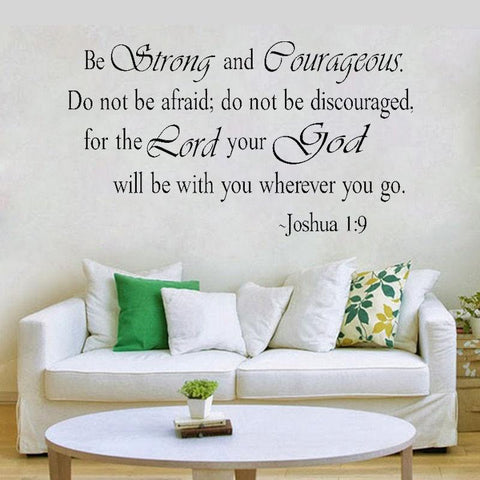 Bible Quote Wall Stickers