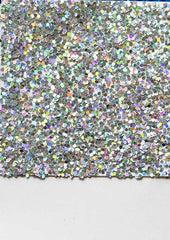Gallery Wall with sequins texture