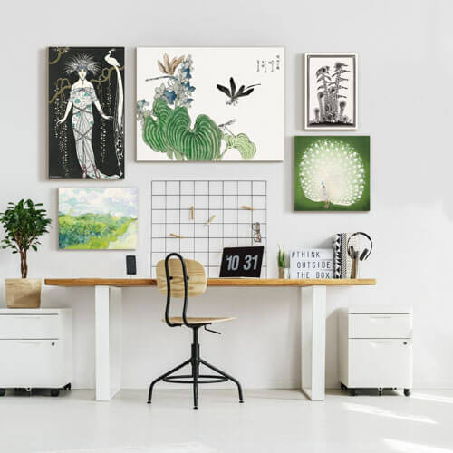 gallery wall size matters blog
