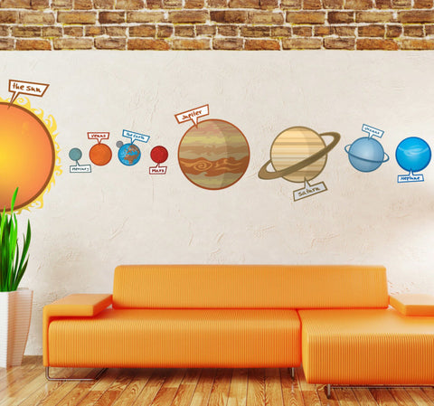kids room wall stickers for learning