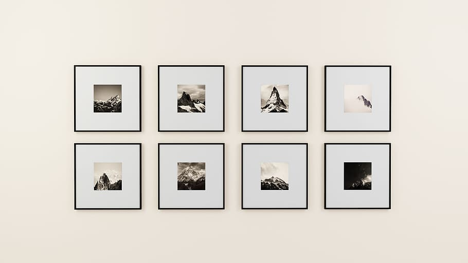How to create a gallery wall in 8 steps