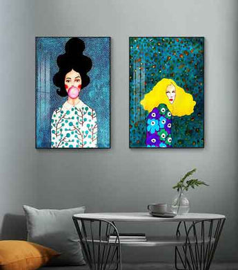 Modern Gallery Wall Art Ideas | Free USA Shipping | www.wallart.biz
