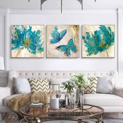 Living room wall art - Free USA Shipping - www.wallart.biz