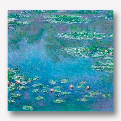 Claude Monet Water Liles | Free USA SHIPPING | WallArt
