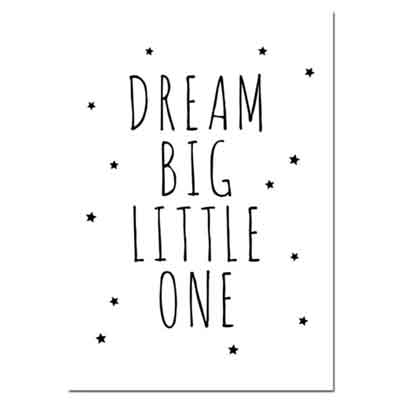 Dream Big Little One Bear Rabbit
