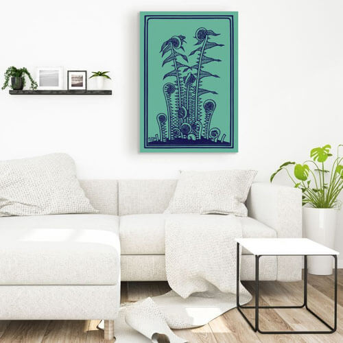 Julie de Graag - Ferns | FREE USA SHIPPING | WallArt.Biz