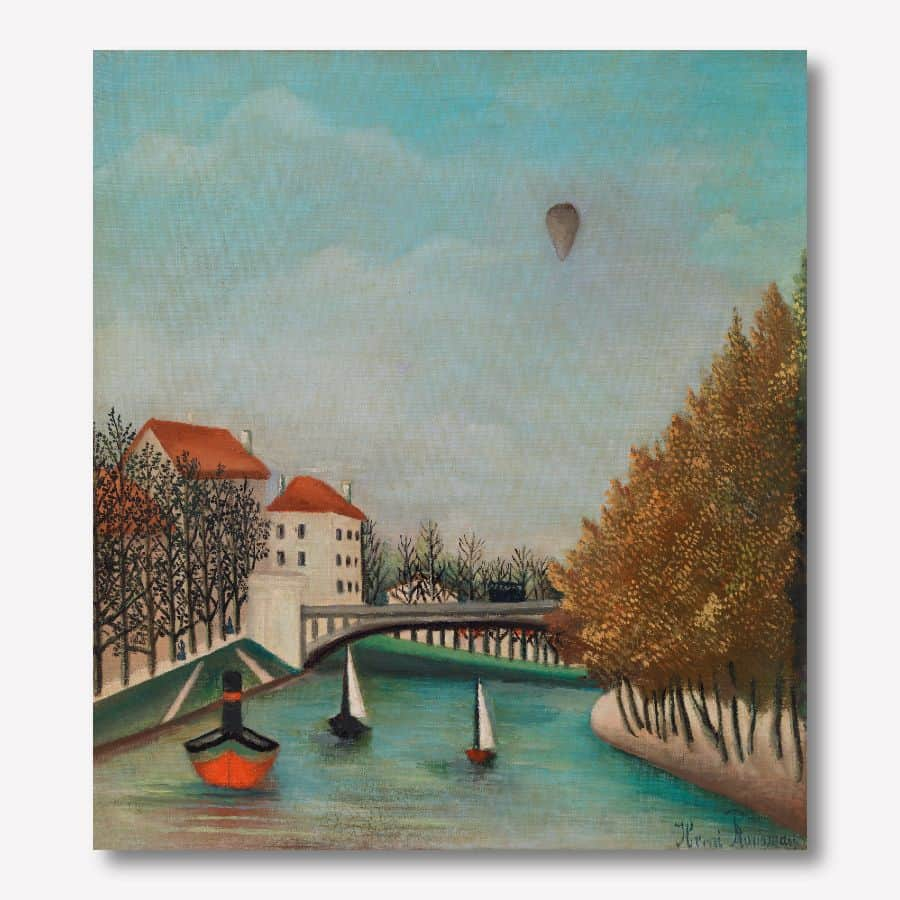 henri rousseau - CANVAS ARTWORK   - FREE USA SHIP - www.wallart.biz