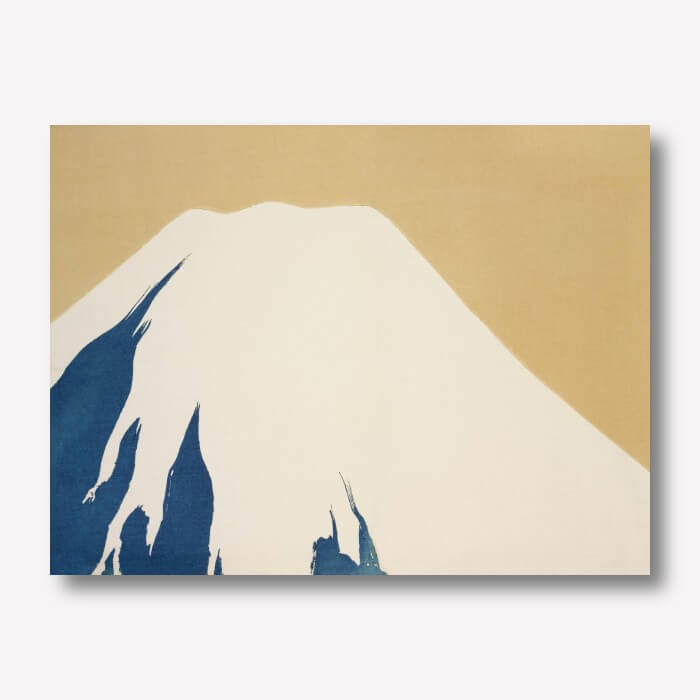 Mount Fuji Japanese Art | by Kamisaka Sekka | FREE USA SHIPPING | WallArt.Biz