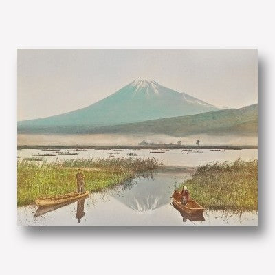 Mount Fuji as Seen from Kashiwabara | Ogawa Kazumasa | Free USA SHIPPING | WallArt