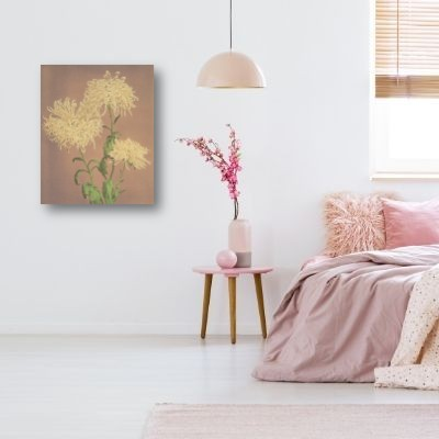 Ogawa Kazumasa - Yellow Chrysanthemum Bedroom | Free USA Shipping| www.wallart.bizs