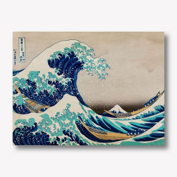 The Great Wave off Kanagawa | FREE USA SHIPPING | WallArt.Biz