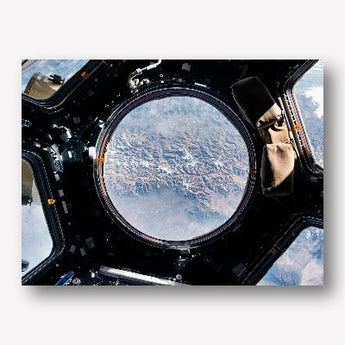 View from space station - free us shipping - www.wallart.biz