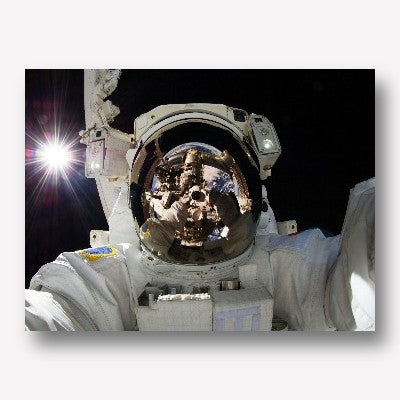 Astronauts in space - free us shipping - www.wallart.biz