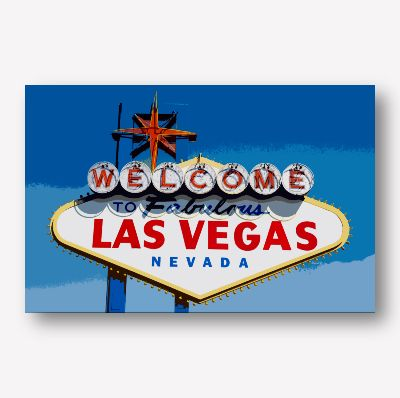 USA Road Signs - Vegas |Free USA Shipping - www.wallart.biz
