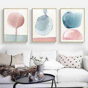 Abstract canvas art living room | Free USA Shipping| www.wallart.biz
