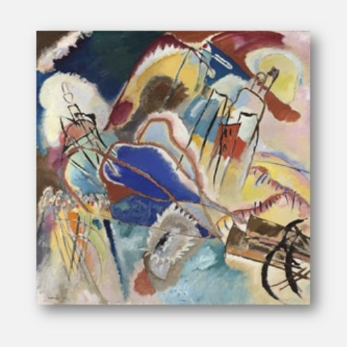 Wassily Kandinsky wall art - free usa shipping - wallart.biz