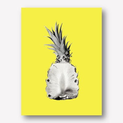 Pineapple Pop Art  | FREE USA SHIPPING | WWW.WALLART.BIZ