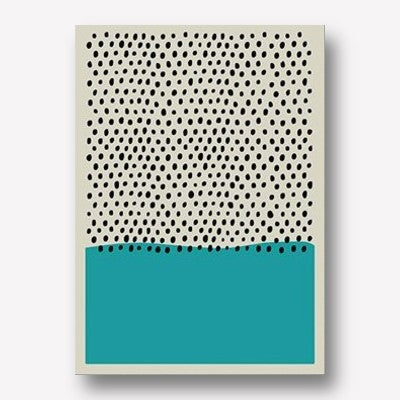 BLUE GEOMETRIC WALL ART | FREE USA SHIPPING | WWW.WALLART.BIZ