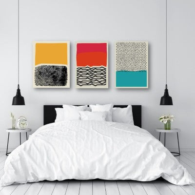 3-PIECE GEOMETRIC WALL ART | FREE USA SHIPPING | WWW.WALLART.BIZ