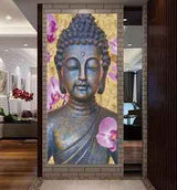 Buddha Wall Art Canvas Print - Main entrance wall | www.wallart.biz