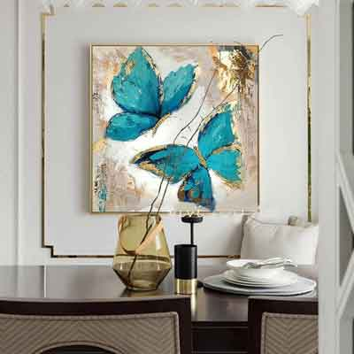 Butterfly Living Room art - Free USA Shipping - www.wallart.biz
