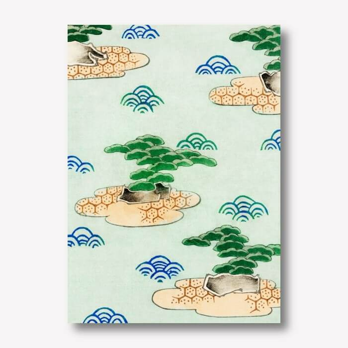 Clouds Wall Art, Watanabe Seitei | FREE USA SHIPPING | WallArt.Biz