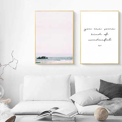 Coastal Gallery Wall Art | FREE USA SHIPPING | www.wallart.biz